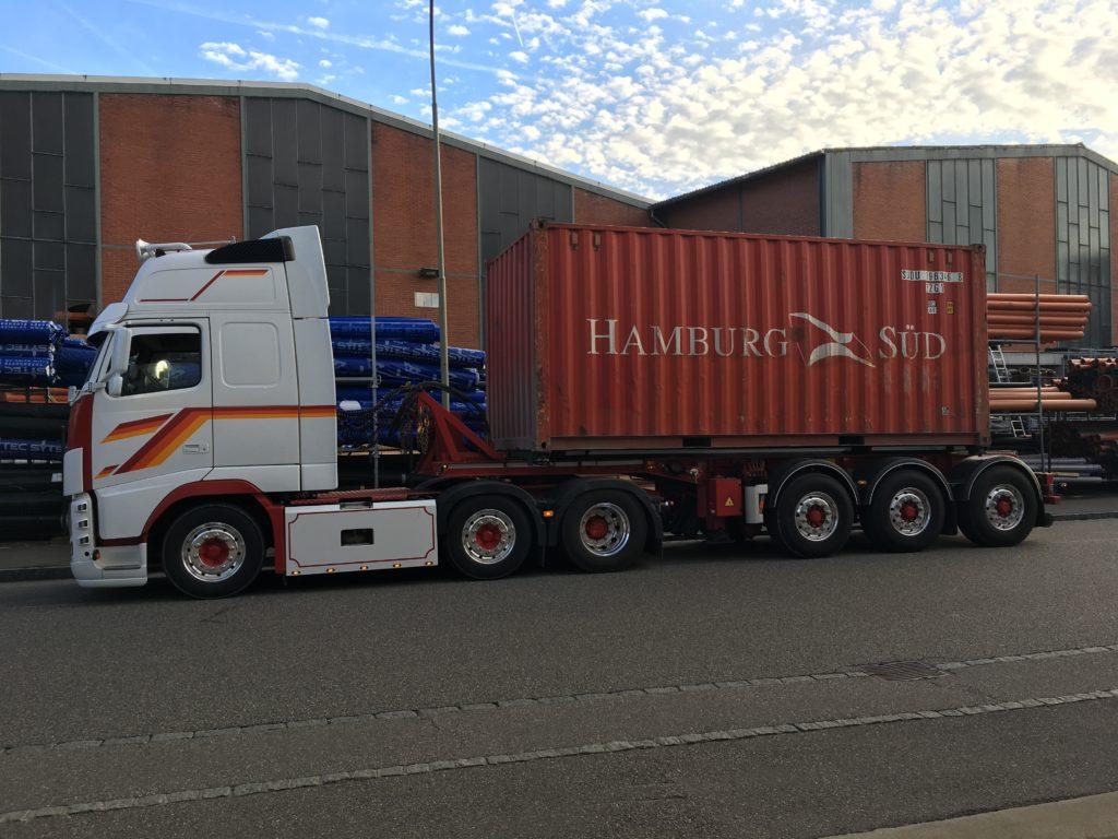 Pfister Transporte - Container-Transporte